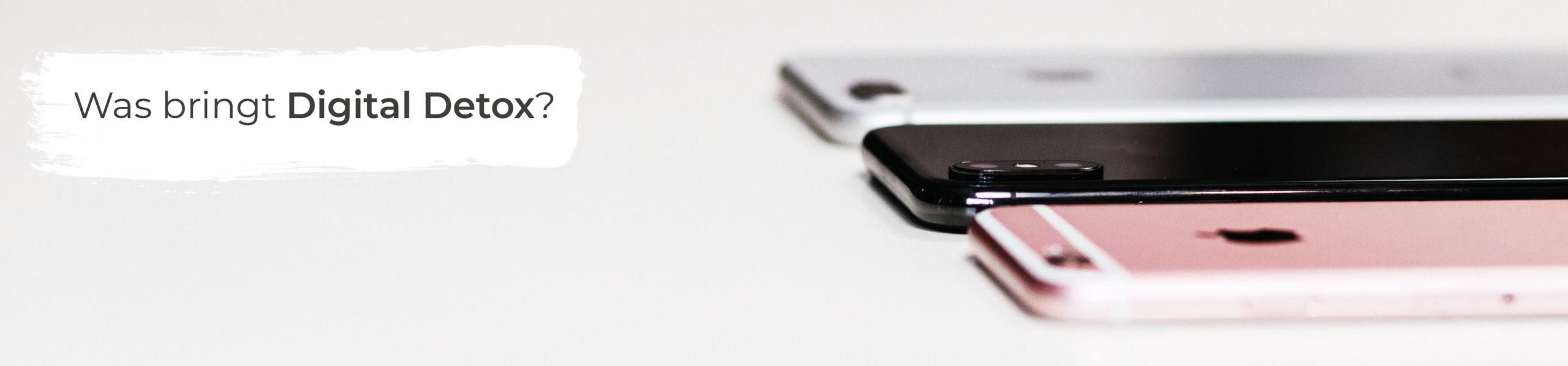 Was bringt Digital Detox?